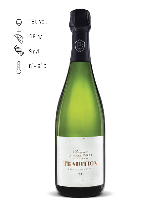 BROCARD PIERRE CUVEE TRADITION BRUT